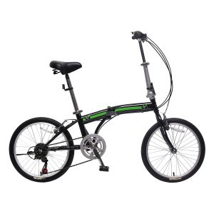 unYOUsual U arc 20″ Foldable Bicycle 6 Speed Shimano