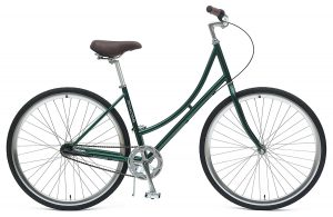 Dutch Step-Thru 3-Speed City Coaster Commuter Bicycle, 44cm/One Size