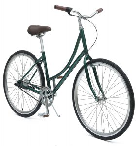 Dutch Step-Thru 3-Speed City Coaster Commuter Bike, 44cm/One Size